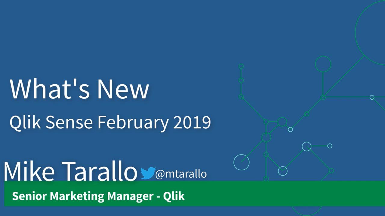 BSolutions Group | Actualización de Qlik Sense para Febrero de 2019